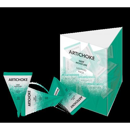 [J:ON] АРТИШОК Маска для лица Artichoke Deep Moisture Sleeping Pack, 1 шт * 5гр