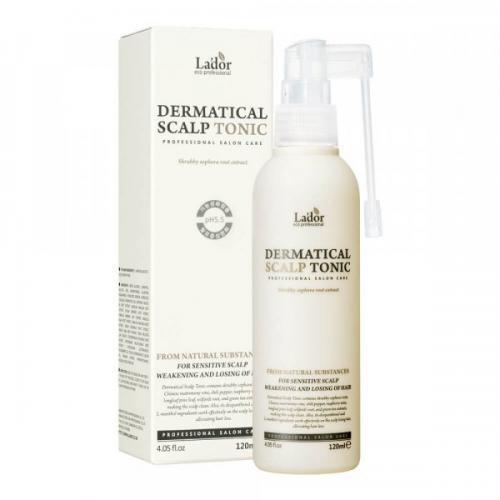 Тоник для кожи головы против выпадения волос LA'DOR DERMATICAL SCALP TONIC 120г