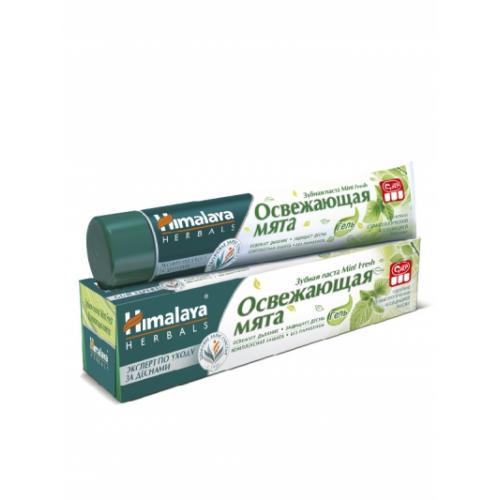 Зубная паста Освежающая мята (Mint fresh), Himalaya 75 мл