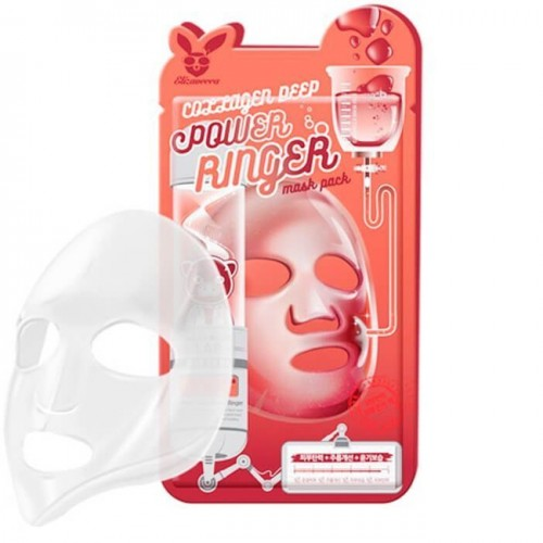 Тканевая маска для лица с Коллагеном COLLAGEN DEEP POWER Ringer