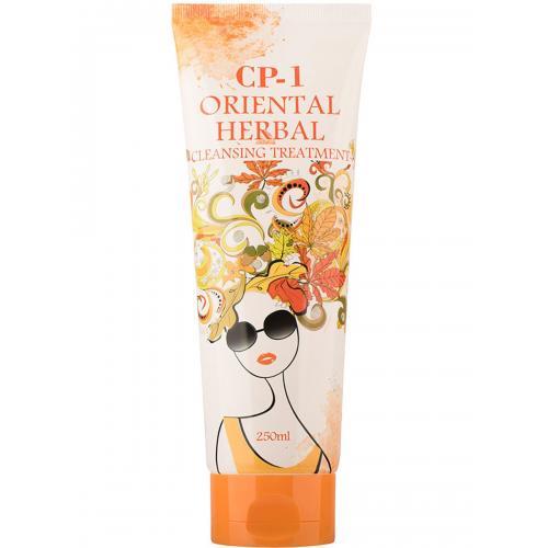 Парфюмированная маска для волос Восточные травы ESTHETIC HOUSE CP-1 Oriental Herbal Cleansing Treatment 250 мл