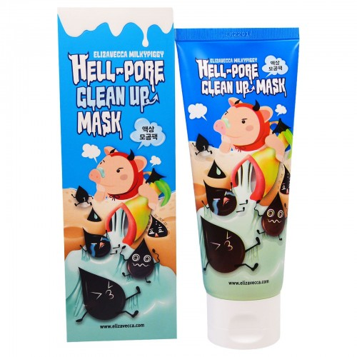 Маска-пленка для очищения пор Elizavecca Hell Pore Clean Up Mask , 100 мл