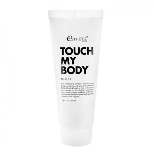 Скраб для тела Esthetic House Touch My Body Goat Milk Body Scrub (250 мл)