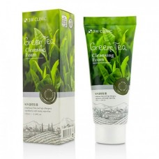Пенка для умывания 3W Clinic Green Tea Foam Cleansing с зеленым чаем