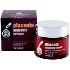 ZENZIA Плацентарный крем для лица Placenta Ampoule Cream