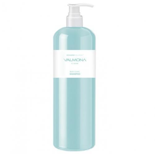 Шампунь для волос УВЛАЖНЕНИЕ Valmona Recharge Solution Blue Clinic Shampoo, 480 мл