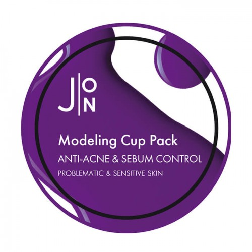 Альгинатная маска J:ON Anti-Acne & Sebum Control Modeling Pack 18 г