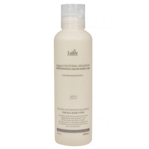 Lador Triplex Natural Shampoo Органический шампунь для волос 150 мл