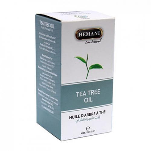 Масло Хемани с чайным деревом hemani tea tree 30 мл