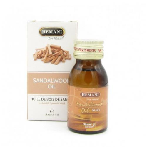 Масло хемани сандаловое  30мл Hemani Sandalwood Oil 30 мл