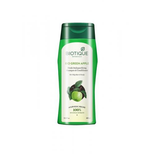 Шампунь для восстановления волос Биотик Био Зеленое Яблоко (Biotique Bio Green Apple), 200 мл