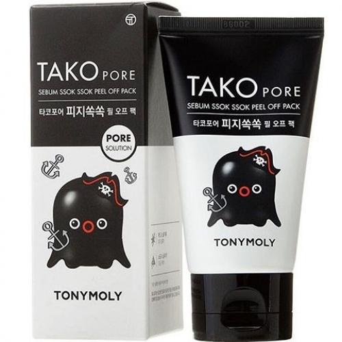 Tony Moly Tako Pore Sebum Ssok Ssok Peel Off Pack Маска-пленка для жирной кожи, 50 мл