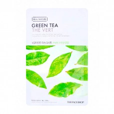 The Face Shop Real Nature Green Tea Mask Sheet Тканевая маска с экстрактом зеленого чая, 20 г.