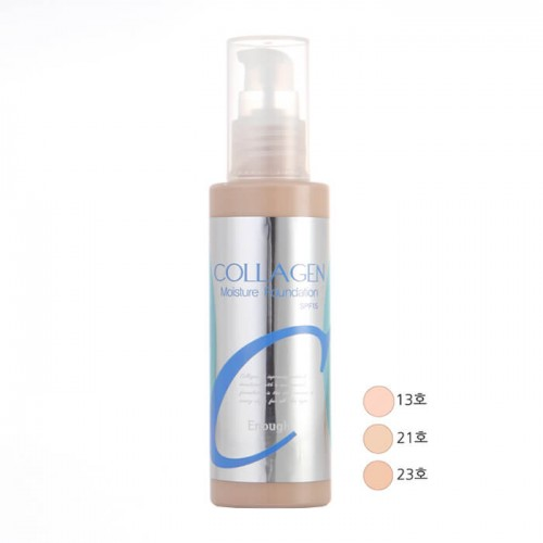 Тональная основа Enough Collagen Moisture Foundation 23 Beige бежевый