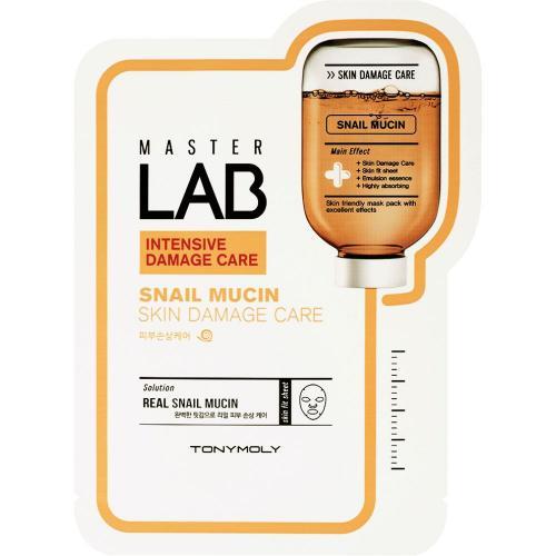 Tony Moly Master Lab Snail Mucin Маска для лица 19 г